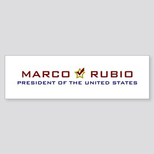 Marci Rubio President USA V2 Sticker (Bumper)