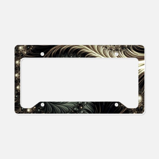 Cute Swirl License Plate Holder