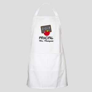 School Principal Personalized Apron