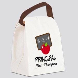 School Principal Personalized Canvas Lunch Bag
