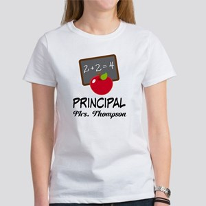 School Principal Personalized T-Shirt