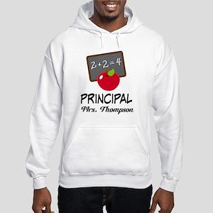 School Principal Personalized Hoodie