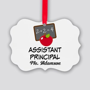 Assistant School Principal gift Ornament