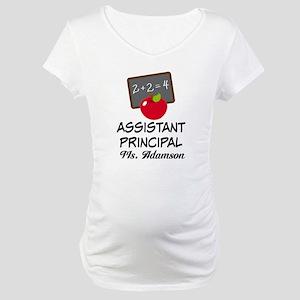Assistant School Principal gift Maternity T-Shirt
