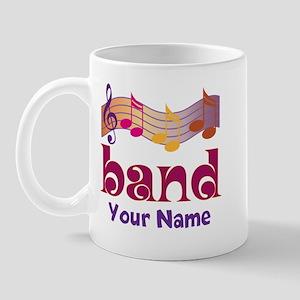 Personalized Marching Band Mugs