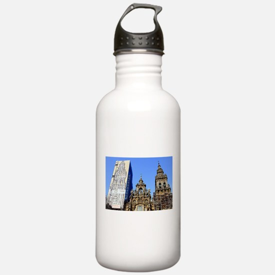 Cathedral of Santiago Water Bottle