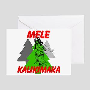 Mele Kalikimaka (Merry Christmas) Greeting Cards