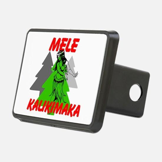 Mele Kalikimaka (Merry Christmas) Hitch Cover