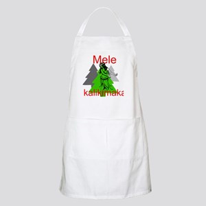 Mele Kalikimaka (Merry Christmas) Apron