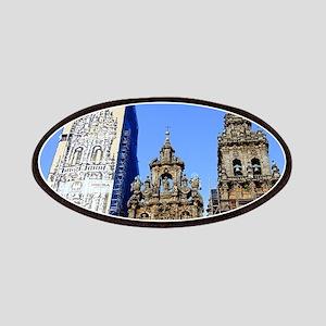 Cathedral of Santiago de Compostela, Spain Patches