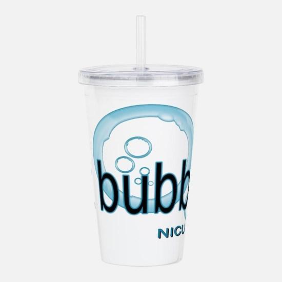 NICU RT - Bubble CPAP Acrylic Double-wall Tumbler