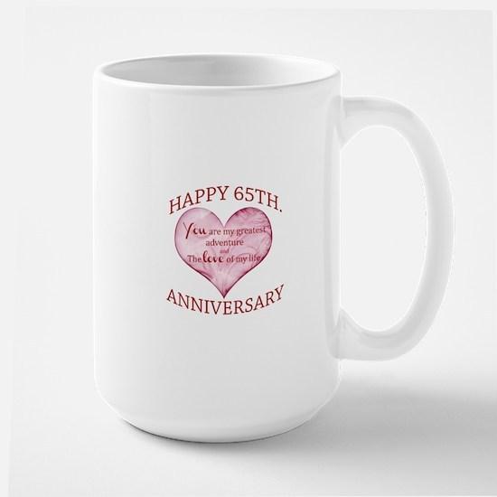 65th. Anniversary Mugs