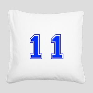 11 Square Canvas Pillow