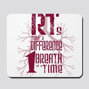 RT-Difference-burgundy Mousepad