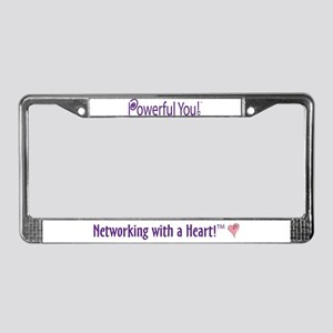 Powerful You! License Plate Frame
