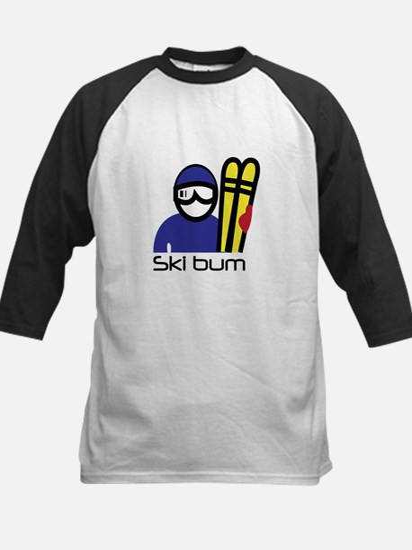 Ski Bum Baseball Jersey