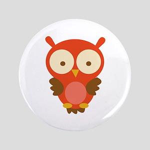 """Hoot Owl 3.5"""" Button"""