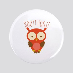 """Hoot Hoot 3.5"""" Button"""