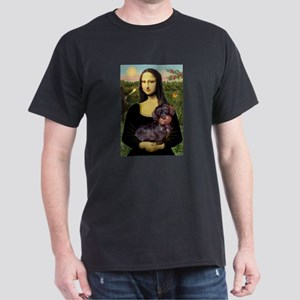 Mona / Dachshund (wire) Dark T-Shirt