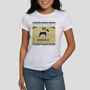 sandstone Basenji notecard T-Shirt