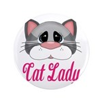 Cat Lady Gray Cat 3.5