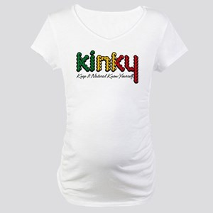 African KINKY Maternity T-Shirt
