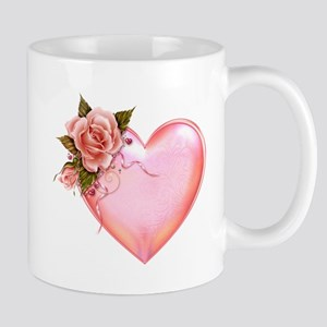 Romantic Hearts Mugs