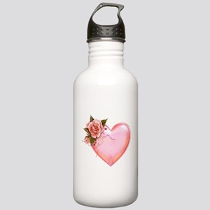 Romantic Hearts Stainless Water Bottle 1.0L