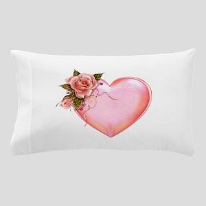 Romantic Hearts Pillow Case