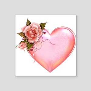Romantic Hearts Sticker