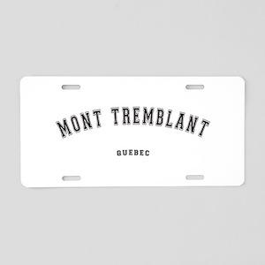 Mont Tremblant Quebec Aluminum License Plate
