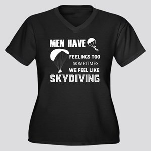 We Feel Like Skydiving T Shirt Plus Size T-Shirt