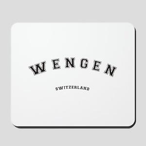 Wengen Switzerland Mousepad