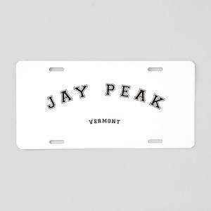 Jay Peak Vermont Aluminum License Plate