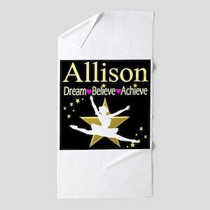 DANCER DREAMS Beach Towel