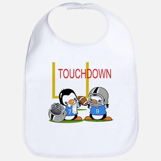 Tochdown football Bib
