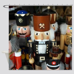 Nutcrackers Shower Curtain