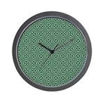 Living Waters Pattern Wall Clock
