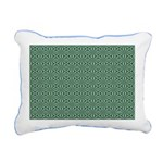 Living Waters Pattern Rectangular Canvas Pillow