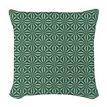 Living Waters Pattern Woven Throw Pillow
