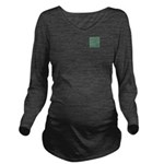 Living Waters Patter Long Sleeve Maternity T-Shirt