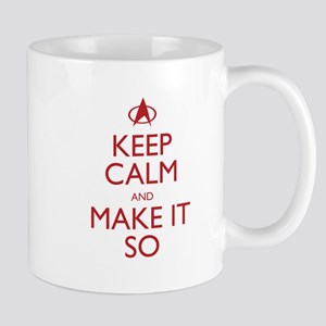 Keep Calm and Make It So Mugs