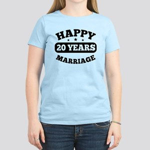 Happy 20 Years Marriage T-Shirt