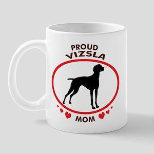 Proud Vizsla Mom Mug
