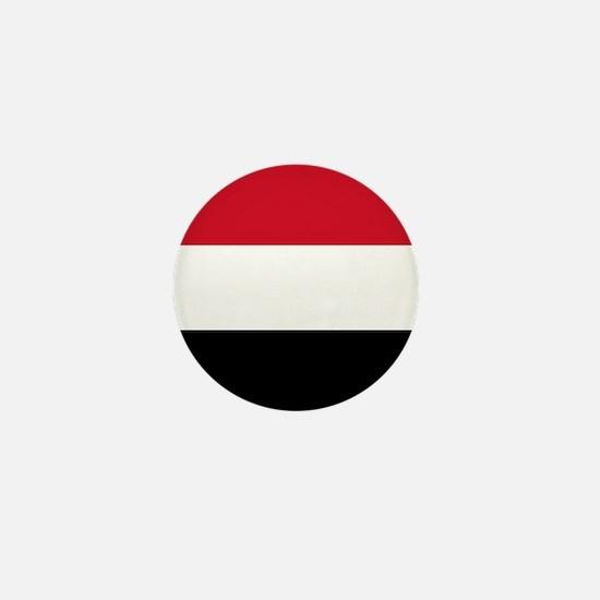 Yemen Flag Mini Button