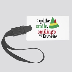 Smilings My Favorite Large Luggage Tag