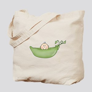 Pea in a Pod Tote Bag