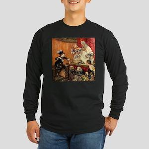 MAD HATTER TESTIFIES Long Sleeve Dark T-Shirt