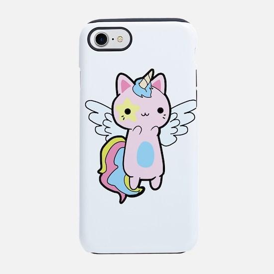 Cat Unicorn Fly Kawaii iPhone 7 Tough Case