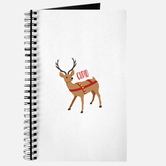 Reindeer Christmas Cupid Journal